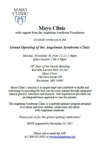 Mayo Clinic Opening Invitation