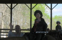 horseback riding at Camp for Courageous Kids