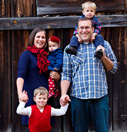 Justin Grill and family