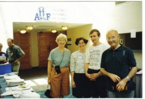 The Bradleys and the Angelmans at the 1993 Conference in Orlando, FL