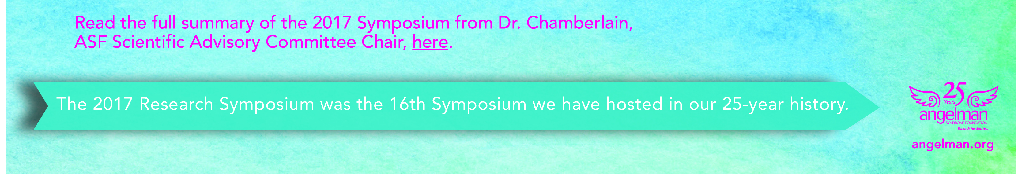 Angelman Syndrome Research Symposium