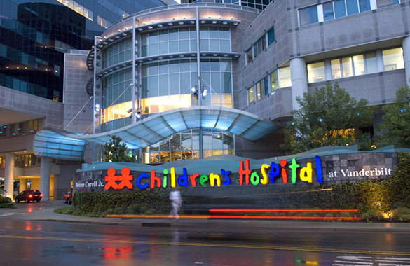 Monroe Carell Jr. Children's Hospital Vanderbilt in Nashville, TN