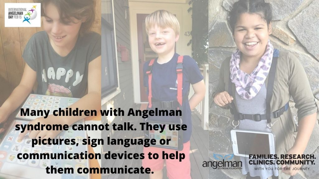Communication in Angelman syndrome