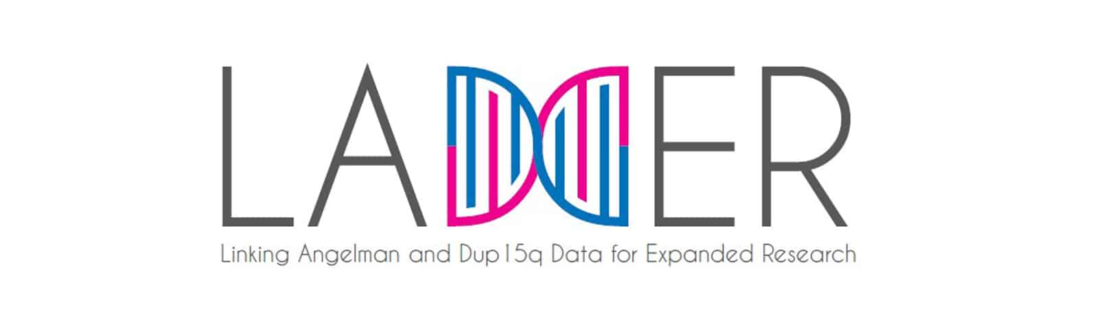 Ladder logo Linking Angelman and Dup15 Data for Expanded Research