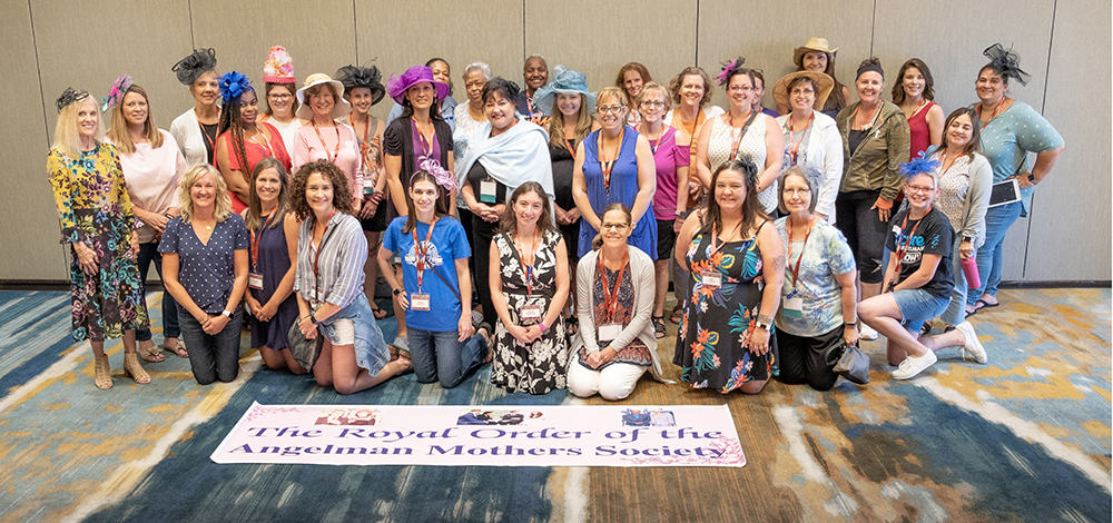 Just for moms group at the 2019 ASF Family Conference