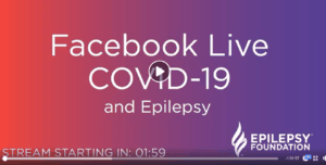 Epilepsy Foundation FB live video thumbnail