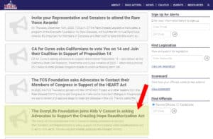 Creating Hope Reauthorization Act in the list