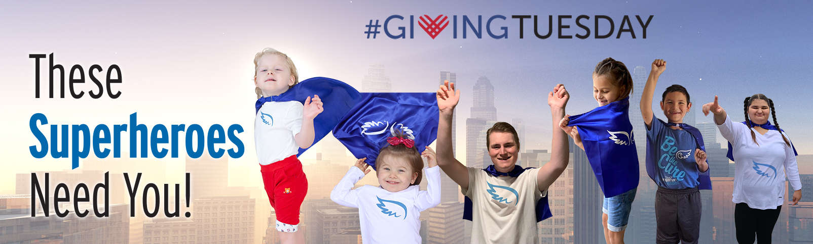Support Superheroes this Giving Tuesday